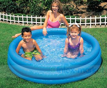Intex-58426 crystal blue paddling pool inflatable baby swimming pool sand pool ocean ball pool