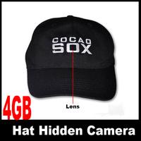 4GB Hat Cap Mini Hidden Camera DVR with remote control
