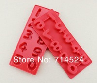FREE SHIPPING,2013 Silicone 3D Cake Mold Fondant Decorating Numbers& Alphabets Chocolate Mold