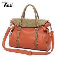 2013 women's spring handbag bow shoulder bag cross-body women's big bags motorcycle bag