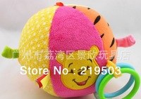 Free shipping  Power manufacturer supply Multi-fonction the five colours fabric small bell ball