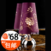 Fala lighting modern brief grape carved fabric touch table lamp t6025 bed-lighting bedroom lamps