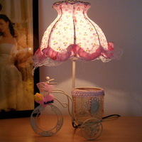 Table lamp bedside table lamp fashion personality rustic small night light iron student lamp