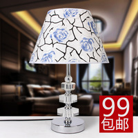 Modern brief fashion crystal table lamp bedroom bedside lamp living room lamps lighting crystal table lamp