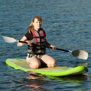 Aqua marina spk1 inflatable surfboard water skiing board inflatable boat blade hydroski plate