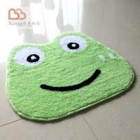 Wool flock printing carpet mats doormat cartoon animal style pad mat 45x50