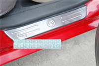 Free shipping/Car Threshold cover/ New Fit for  Geely MK MK-Cross car stainless steel Threshold cover/Wholesale+Retail