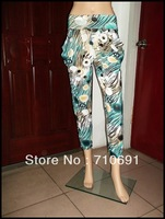 2013 hot selling fashion one size  colorful print breathable Harem Pants Harem Pants Fergie Haroun pants bandage dress