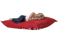 EXTRA LARGE outdoor & indoor beanbag sleeping beds,high quality bean bag reliner,lazy seat.RED and BLACK in stock.FREE SHIPPING