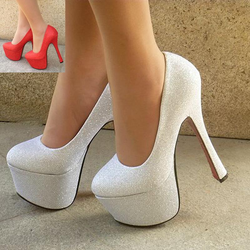 cheap lacing white high heeled platform women 39 s wedding pumps bridal