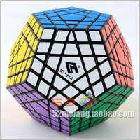 Black white Gigaminx 12 Color Megaminx Magic cube CUBE4U C4U