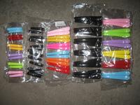Black multicolour yanerwo clip plastic horn clip beak clip hairpin hair accessory hair accessory