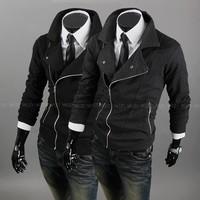 Assassin's Creed oblique zipper clothes jacket men's clothing