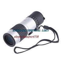Freeshipping ,Compact Pocket-Sized 15-55x Mini Zoomable Monocular Telescope