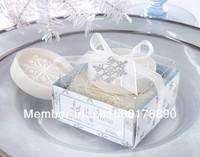 Essential oil     Oil soap snowflake shape bath soap  Romantic snowflakes soap  Personalized soap