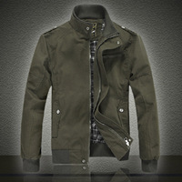 806 jacket new arrival outerwear spring and autumn men's british style stand collar jacket plus size p90