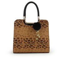 Fresh women's 2013 small handbag color block leopard print tassel women's handbag cross-body married dinner party vintage