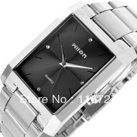 100% Original Spike genuine Wilon Wristwatches square quartz watch men's watch fashion female form diamond business lover watch