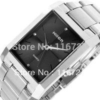 100% Original Spike genuine Wilon Wristwatches square quartz watch men's watches fashion female form diamond cou