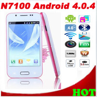 "[IN STOCK] N7100Android With Leather Case QUAD BAND TV WIFI 4.0""Good Quality Android 4.0 Free/Drop Shipping"