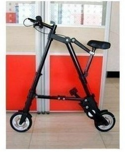 send by Fedex Folding bicycle 8 foaming wheel portable fitness bicycle ultra-light mini folding bike exercise bike bicycle(China (Mainland))