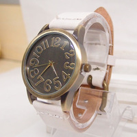 2013 new arrival Genuine Cow leather fashion Men Women ladies quartz watch top quality free shipping KOW042
