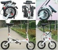 Freeshipping  by fedex!freeshipping  Super mini size mini 12'' folding bicycle/bike   bicycles folding for sale