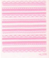 65 3d finger lace applique diy nail art accessories false nail tool hl pink pig