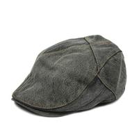 Denim cap beret male women's summer hat