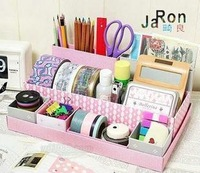 free shipping 1pcs Qige 1999 diy pink storage box