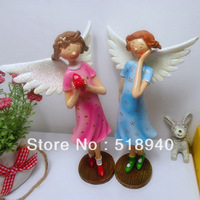 2013 Fashion rustic aesthetic resin doll home decoration new homes decoration Christmas gift,birthday gifts