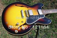 top Custom Shop 1960 Slim Neck ES-335 Dot Reissue VOS Vintage Sunburst electric guitar OEM