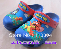free shipping 2013  Cat and mouse Kids sandal/slippers shoes size :6C7-12C13