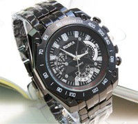 BLACK&WHITE COLOR,WRIST WATCH,FASHION WATHC FOR MEN.