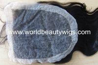 Fast free shipping  wholesale 100% human hair body wave top closure lace closure 10 pcs/lot