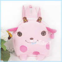 20 20cm onta pink baby backpack plush doll preschool school bag adjustable backpack
