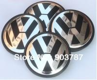 DHL shipping 55mm VW Car Wheel Cover Badge VW wheel Center Cap Emblem  For VW Volkswagen Bora 100pcs