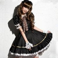 Lolita Princess Girl dress lace cake cosplay Costume Rozen Maiden Free shipping
