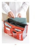 fashion cosmetic bag organizer ,storage bag, handbag organize for laptop 200pcs/lot