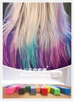 Crayon hair dye stick haircolouring pen small l ! multicolor disposable hair color pen
