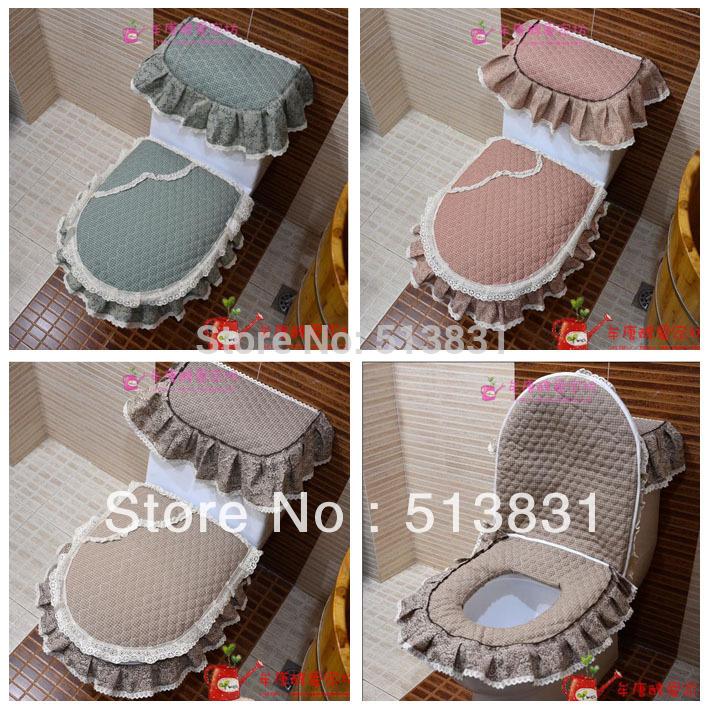 Set De Baño Cubre Inodoro:Toilet Tank Cover Sets
