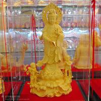 Alluvial gold velvet buddha decoration crafts at home modern home decoration