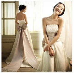 Free shipping The new Sweet Princess Bride tailing wedding dress Mopping the floor fashion beautiful pregnant women can wear(China (Mainland))