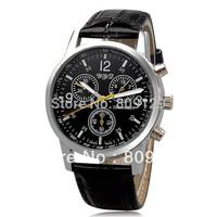 Shshd 8077 Fashion & Casual Brand Analog Quartz Dress Wrist Watch For Men (brown)