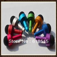 2 in 1 Portable 3.5mm Mini Anti-dust Ear Cap Dust Plug Stopper+Stylus Touch Screen Pen