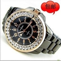 Luxury lovers table full rhinestone mens watch fashion women's watch spermatagonial fashion table rhinestone table
