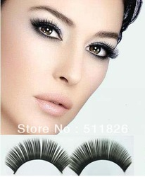 Free shipping 10pack 10 Pair/1 pack Thick False Eyelashes Eyelash Eye Lashes+Glue See original listing 8469(China (Mainland))