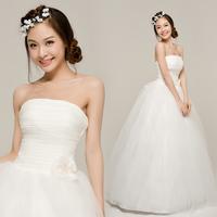 YHZKorean version of the new 2012 wedding dress temperament simple sweet bride wedding Korean Qi marriage wedding