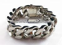 B502 wholesale hottest stainless steel big fashion bracelet
