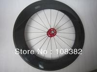 carbon fiber tubular track wheel 88mm front only